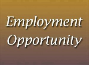 Employment Opportunity Placard